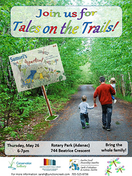 2016 Tales Trails Poster, Conservation Sudbury, Junction Creek